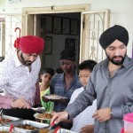 Goldkartz serving the kids during Sewa Day 5